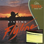T-Series T-400 Fly Line, 8-12 Rod Size, Approx. 8 IPS, Yellow
