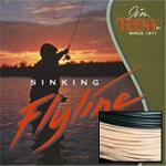 TS-Series T-250 Fly Line, 6-8 Rod Size, Approx. 6 IPS, Natural