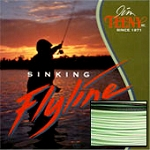 Tip Taper Fly Line, 8-12 Rod Size, Approx. 7.5 IPS, Green