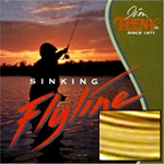 Weight Forward Mini Tip Yellow/Black Fly Line, 3-9 Rod Size, Approx. 3.75-5.25 IPS