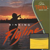 TS-Series T-350 Fly Line, 8-10 Rod Size, Approx. 7 IPS, Yellow