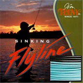 Tip Taper Fly Liner, 6-8 Rod Size, Approx. 5.5 IPS, Blue