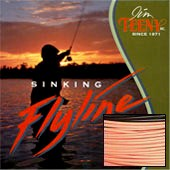 Tip Taper Fly Line, 9-14 Rod Size, Approx. 8.5 IPS, Orange